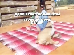 guapa follada por perro