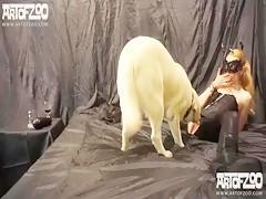 Follando con perro