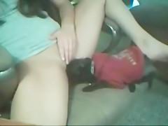 little dog like teen pussy